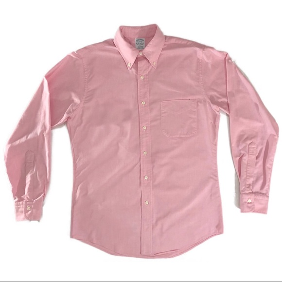 Brooks Brothers Other - BROOKS BROTHERS Men's Dress Shirt Pink 15-34